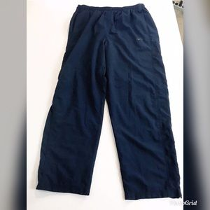 Nike XXL Navy Running Wind Pant Jersey Lined